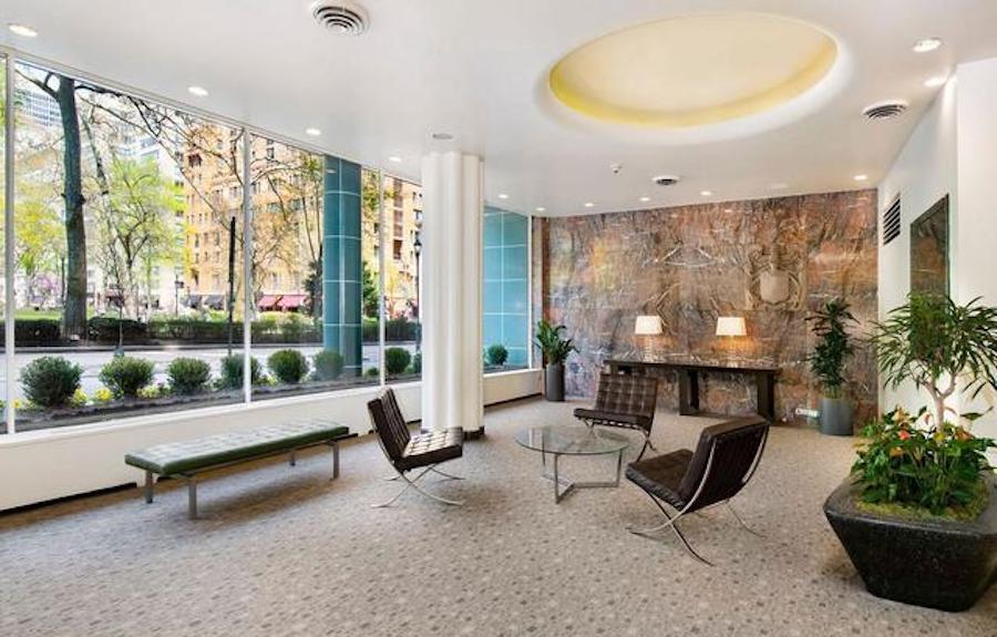 condo for sale rittenhouse square studio building lobby