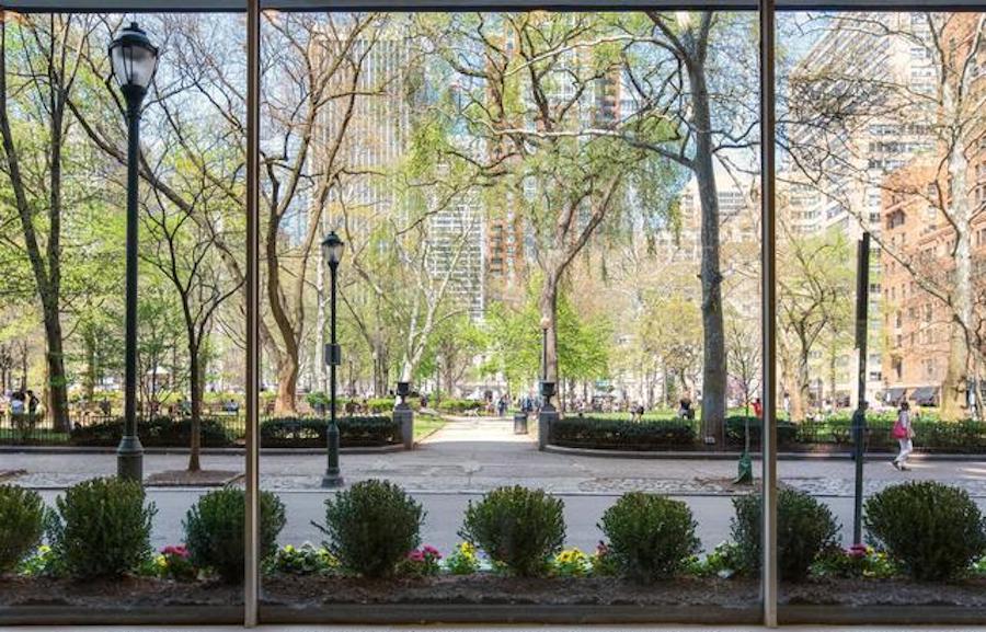 condo for sale rittenhouse square studio view of square