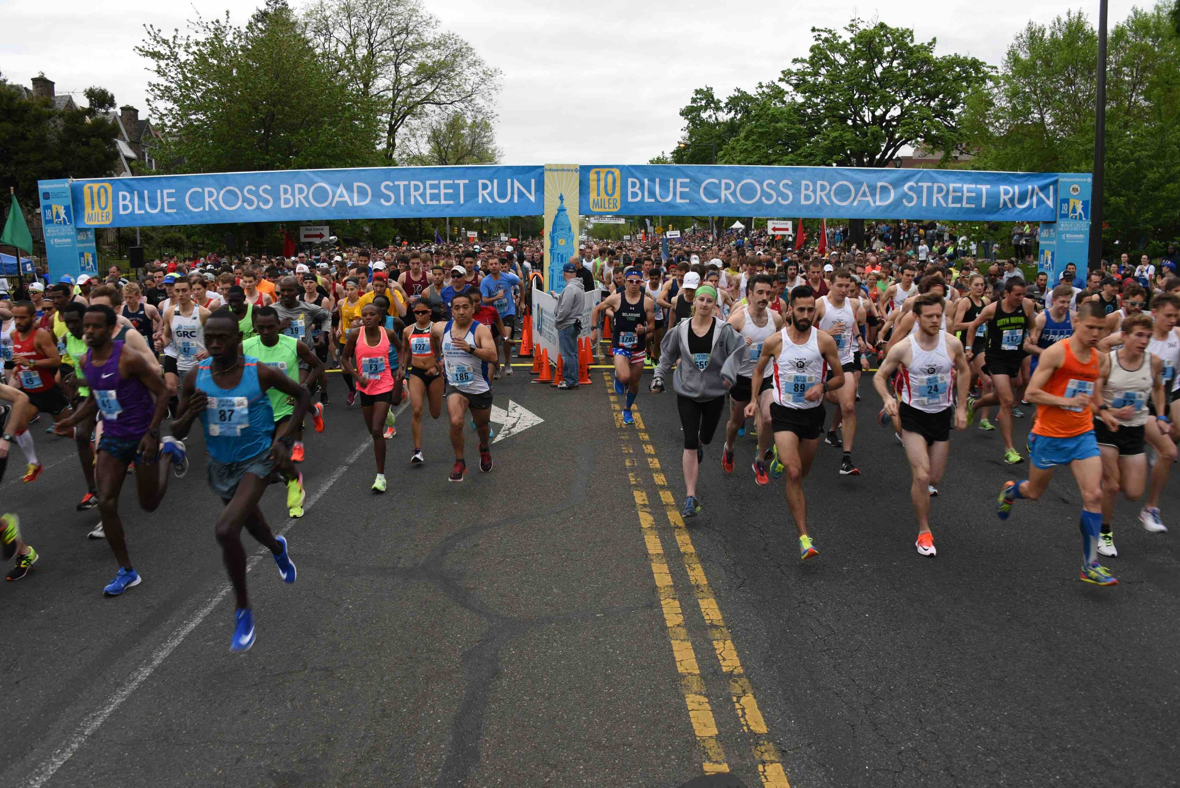 first-time broad street runners