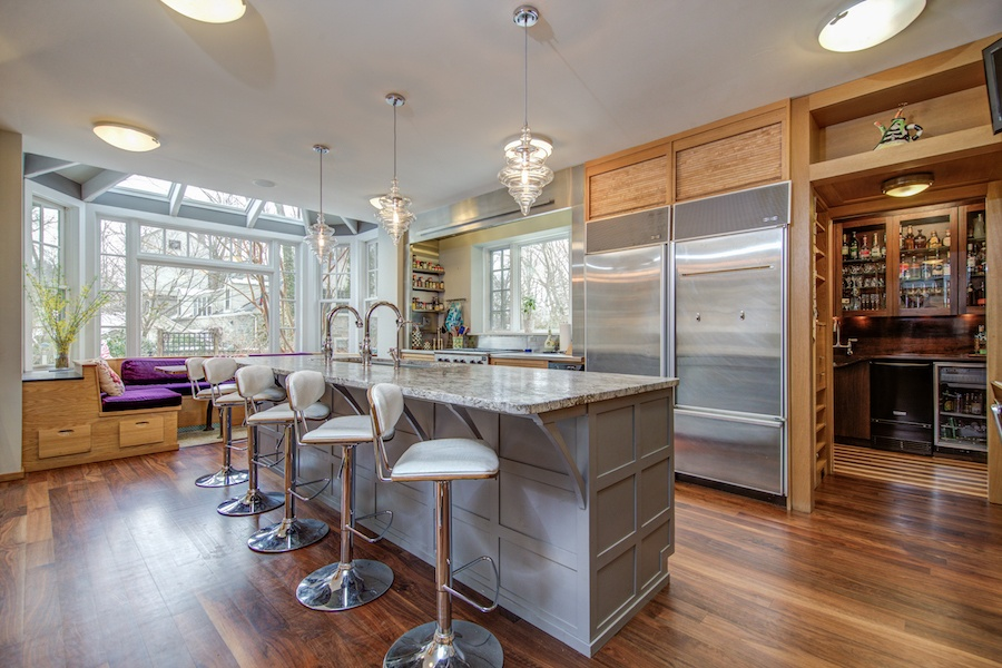 house for sale chestnut hill tudor revival kitchen