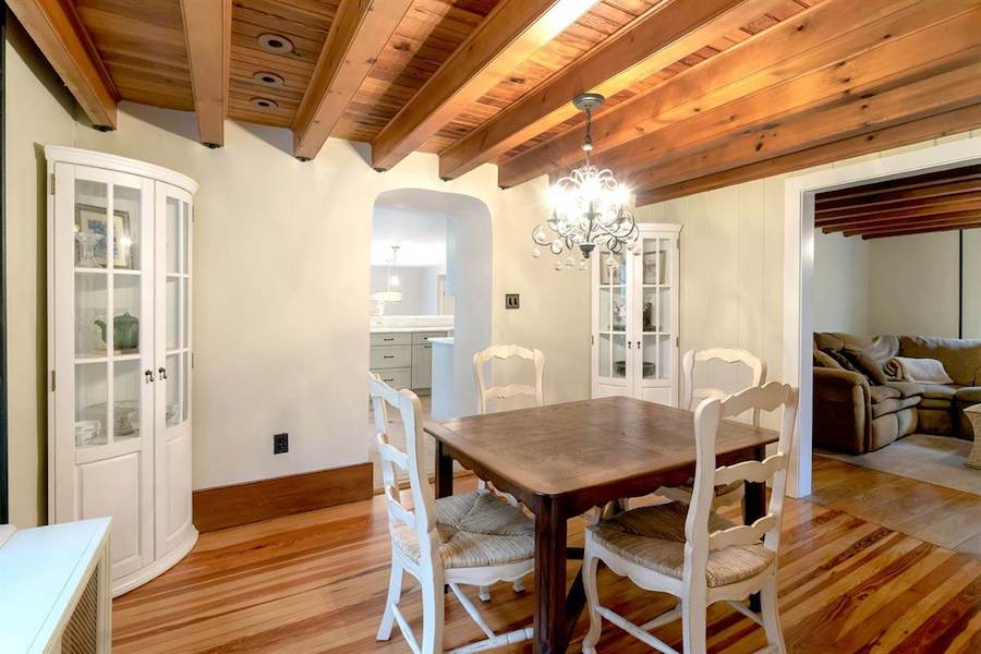house for sale doylestown converted schoolhouse dining room