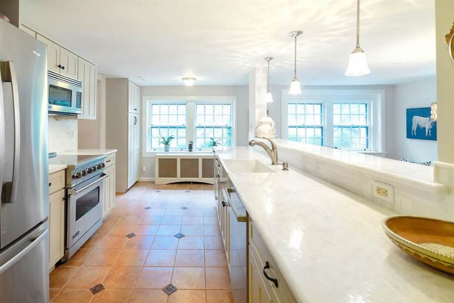 house for sale doylestown converted schoolhouse kitchen