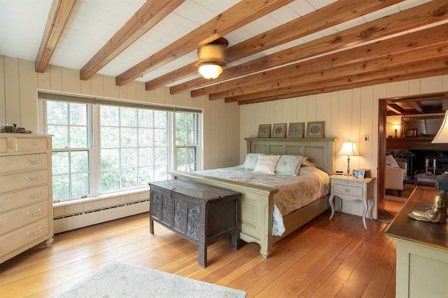 house for sale doylestown converted schoolhouse master bedroom