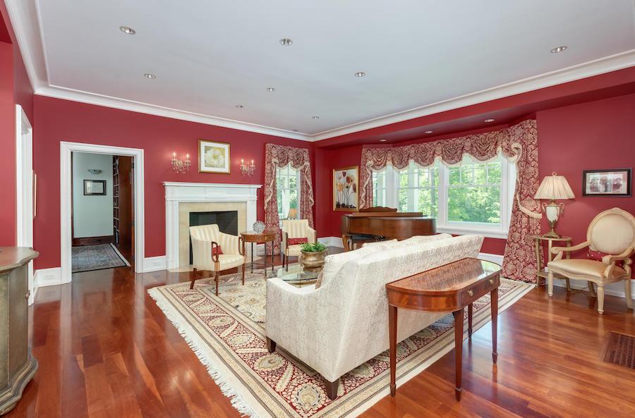 house for sale malvern shingle style living room