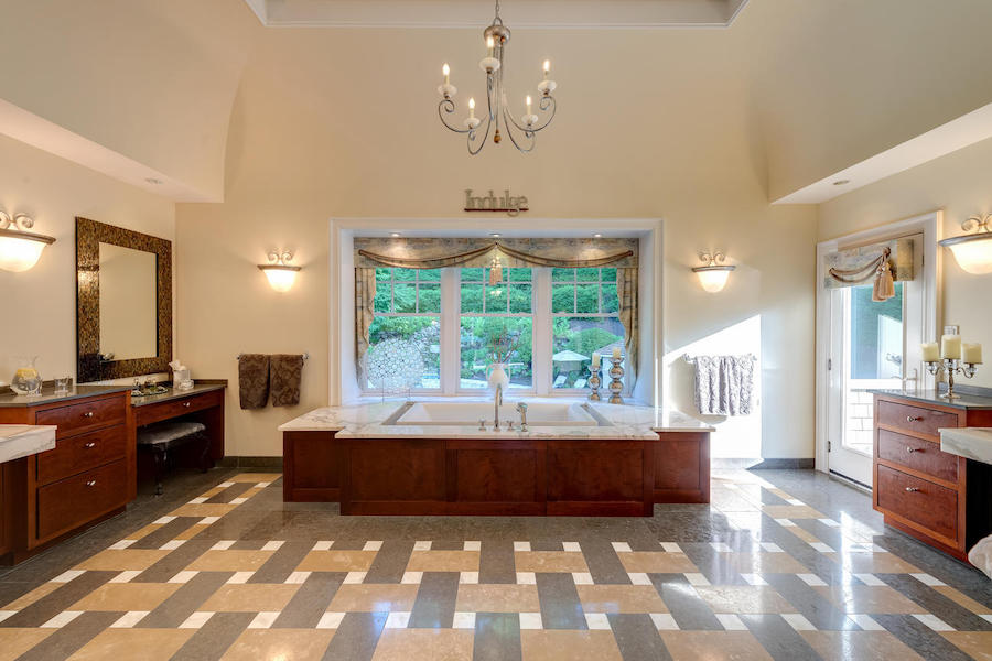 house for sale malvern shingle style master bathroom