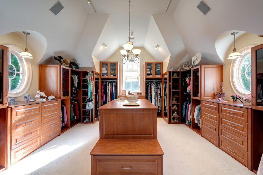 house for sale malvern shingle style master bedroom closet