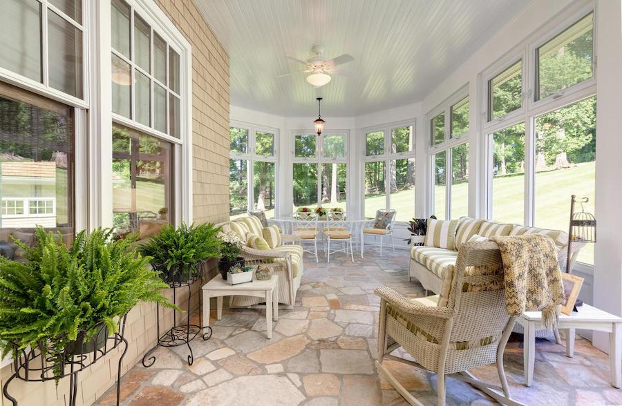 house for sale malvern shingle style sunroom
