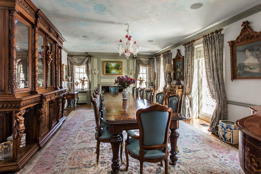 house for sale new hope elm grove estate dining room