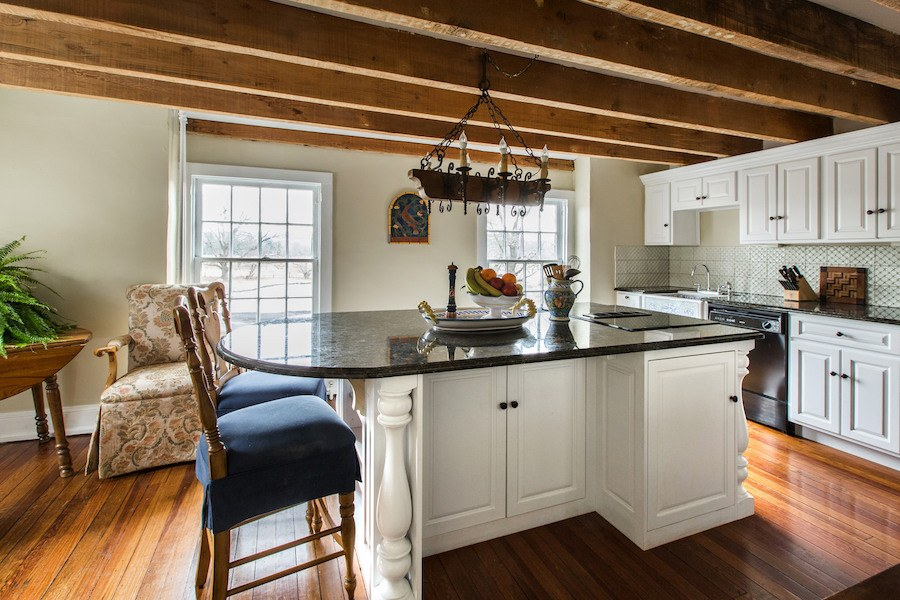 house for sale new hope elm grove estate carriage house kitchen