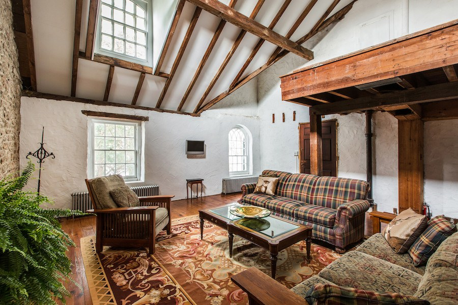house for sale new hope elm grove estate carriage house living room