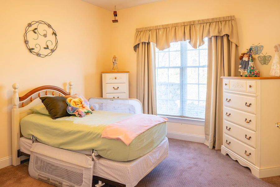 house for sale newtown square accessible neotraditional first-floor bedroom