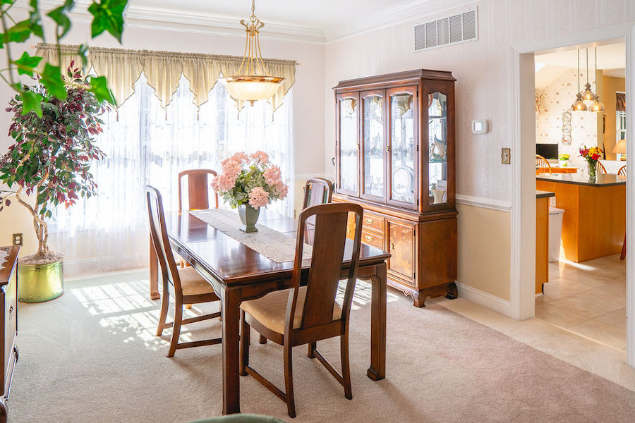 house for sale newtown square accessible neotraditional dining room