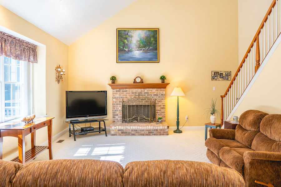 house for sale newtown square accessible neotraditional family room