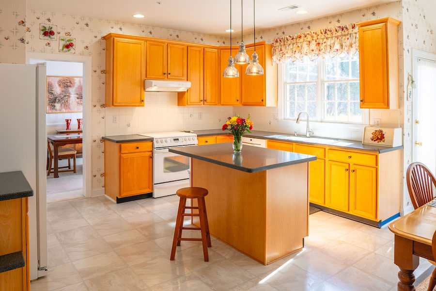 house for sale newtown square accessible neotraditional kitchen