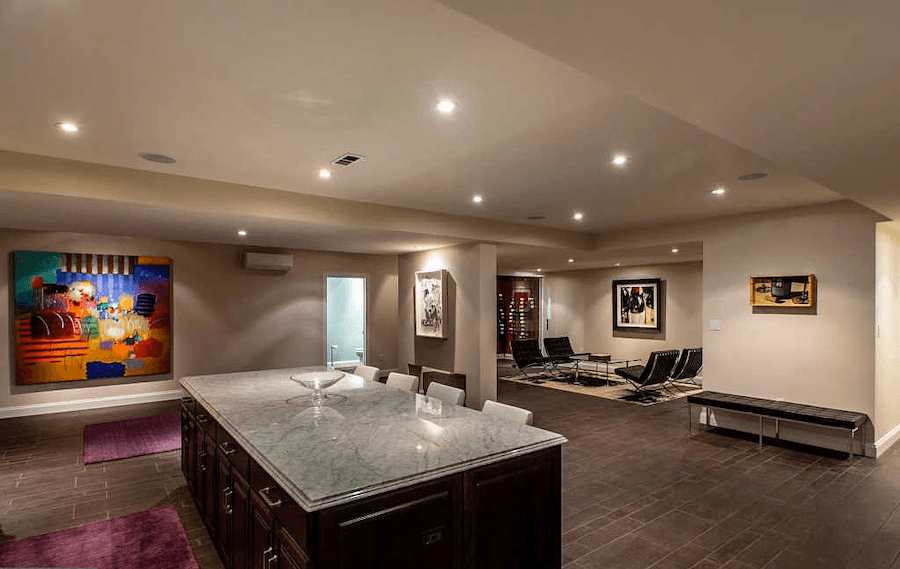 house for sale penn valley normandy mansion basement lounge