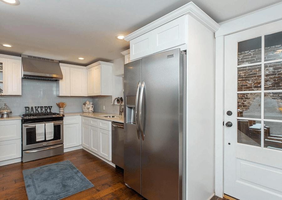 house for sale queen village dutch colonial row kitchen