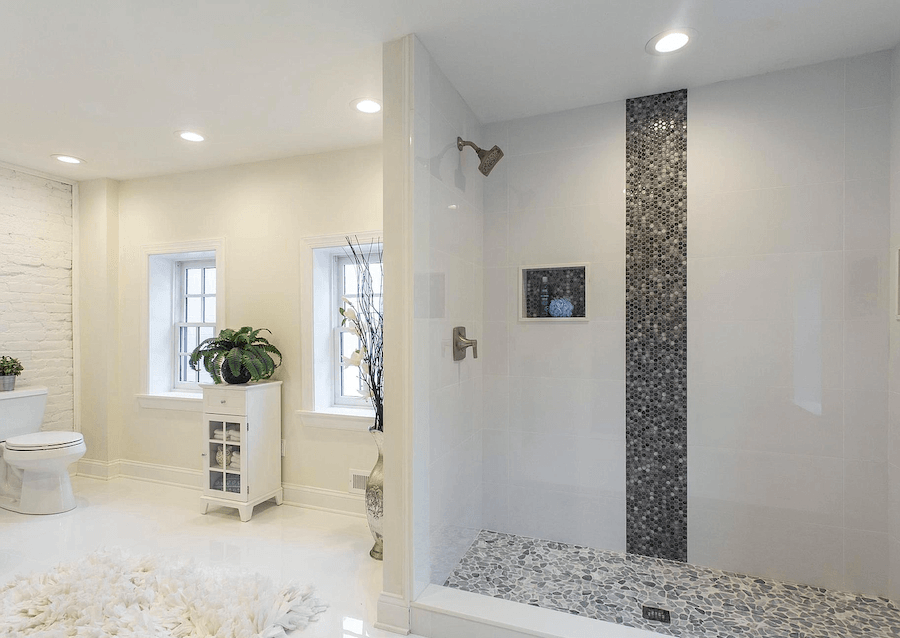 house for sale queen village dutch colonial row master bathroom
