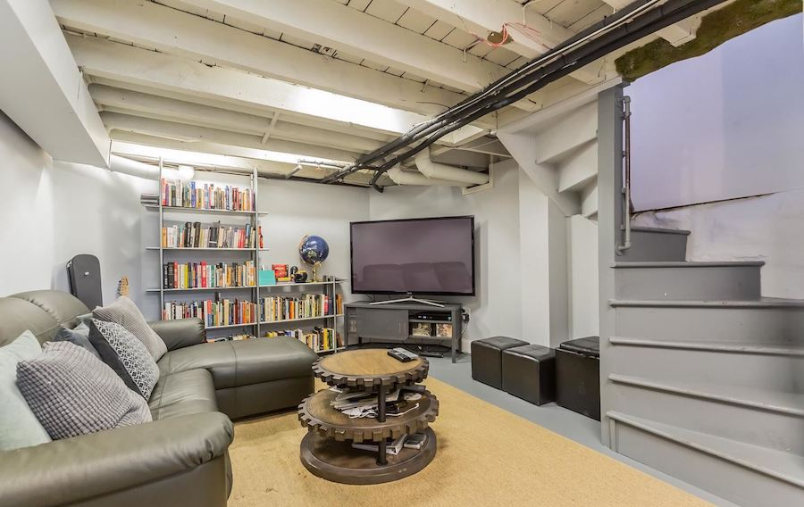 house for sale rittenhouse renovated row house rec room