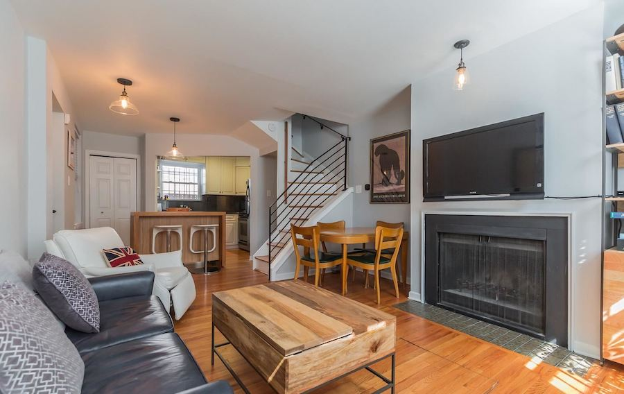 house for sale rittenhouse renovated row house main floor