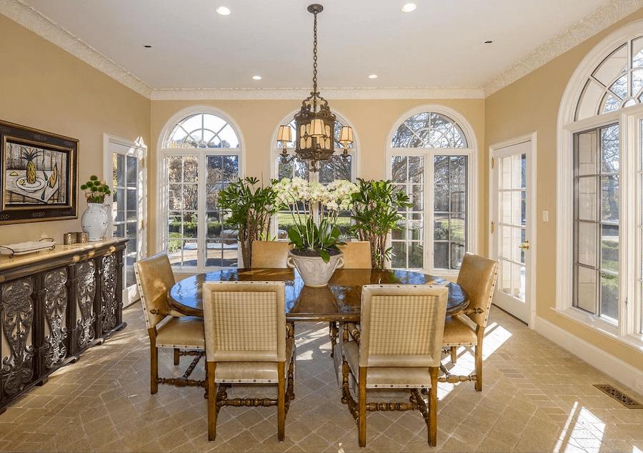 house for sale villanova tudor mansion casual dining room