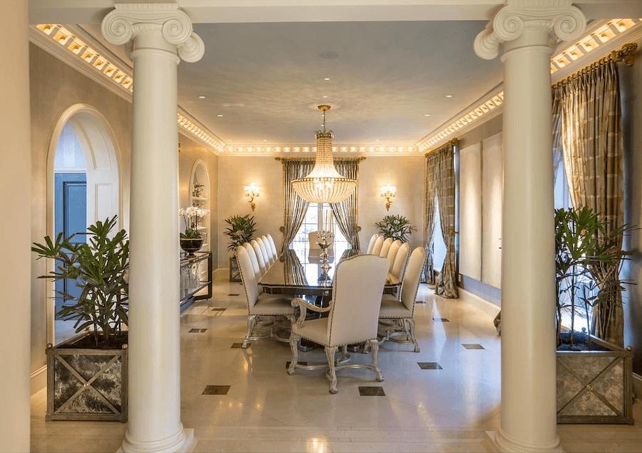 house for sale villanova tudor mansion formal dining room
