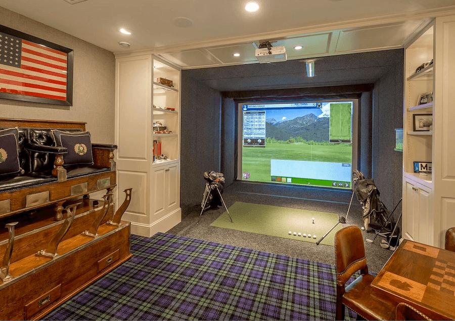 house for sale villanova tudor mansion golf simulator