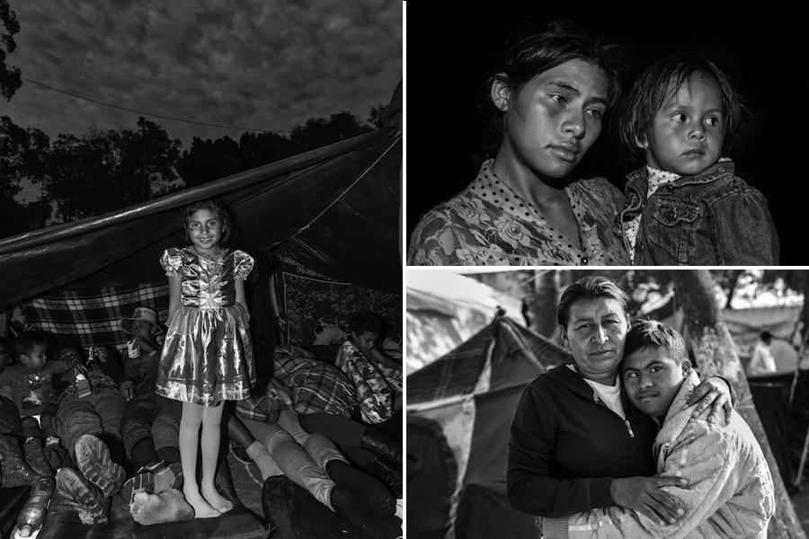 migrant caravan photos ada trillo