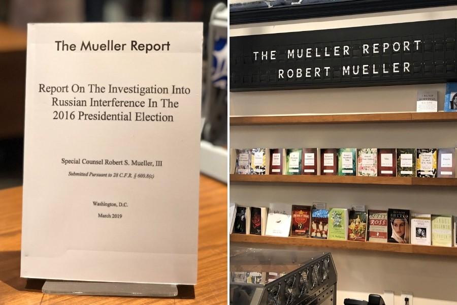 shakespeare & co. mueller report