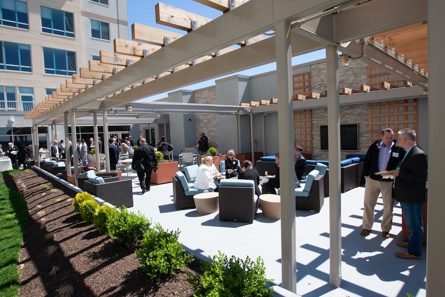 one ardmore profile amenity floor terrace patio