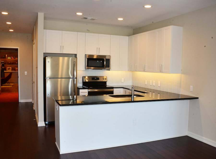 one ardmore profile apartment kitchen
