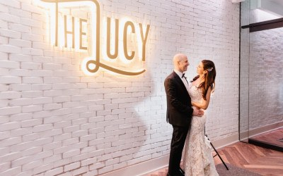 the lucy cescaphe wedding