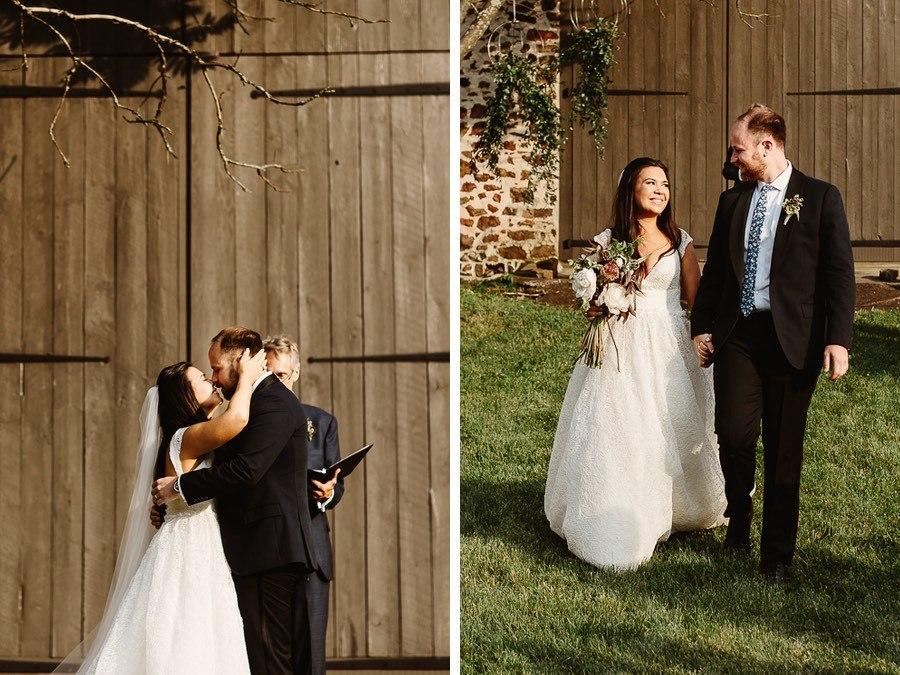 A Luxe Backyard Wedding At The Home Of A Cnn Anchor