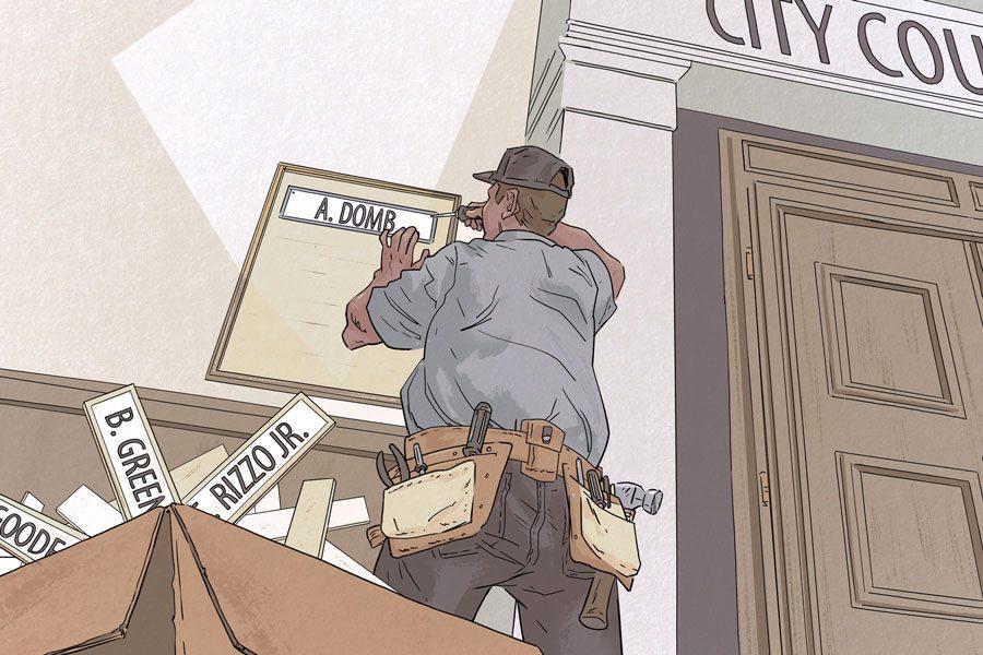 city council incumbency