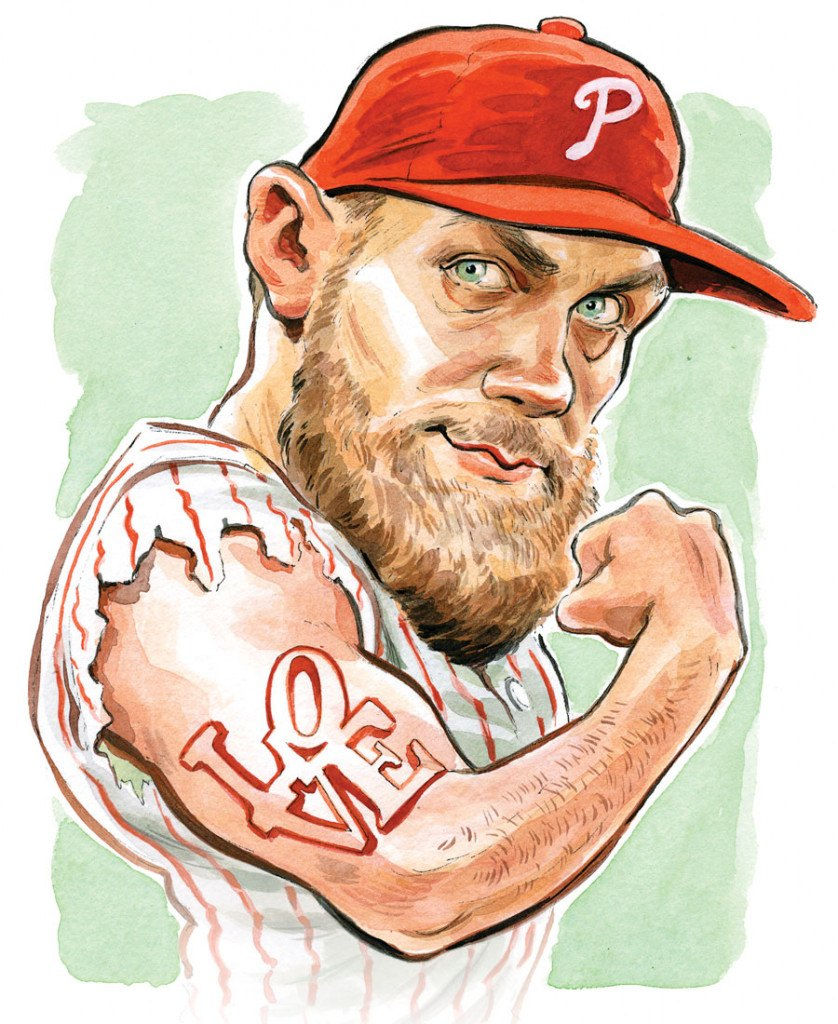How Bryce Harper S Background Prepared Him To Be A Philadelphian