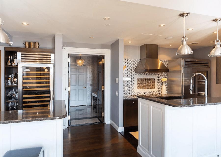 condo for sale logan square phoenix penthouse kitchen