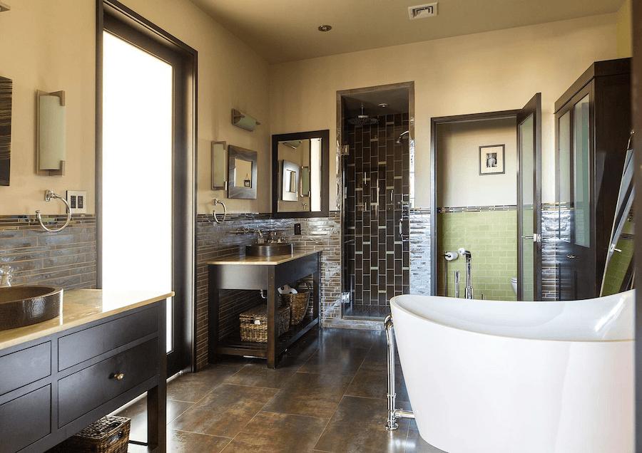 condo for sale logan square phoenix penthouse master bathroom
