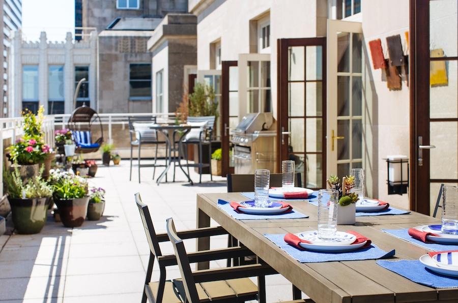 condo for sale logan square phoenix penthouse terrace