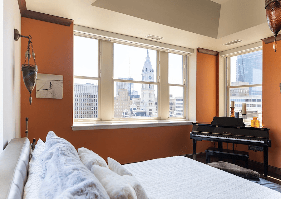 condo for sale logan square phoenix penthouse master bedroom