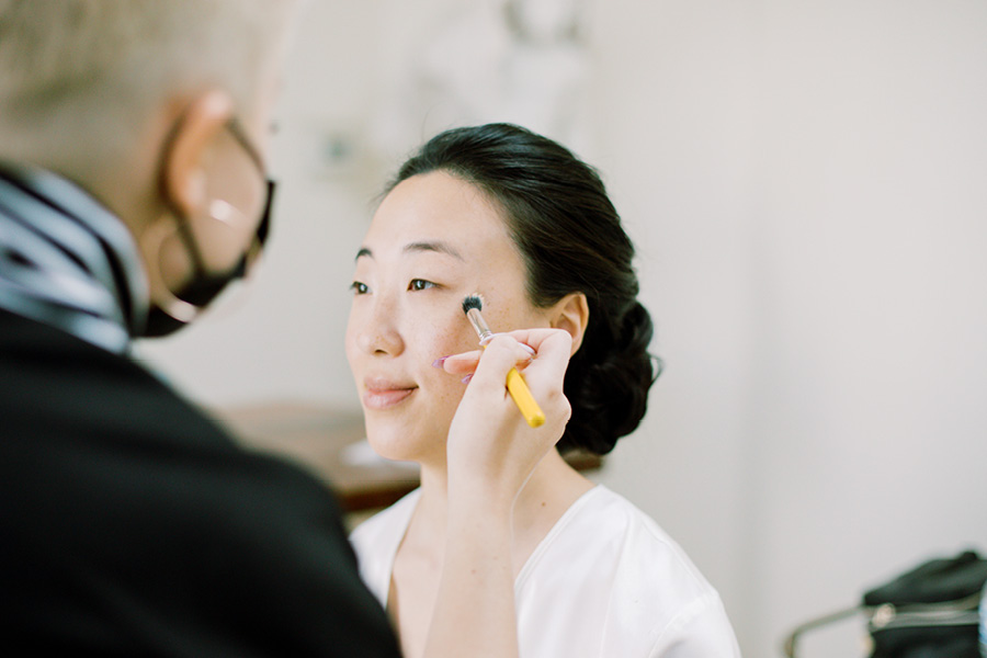 bridal makeup mask
