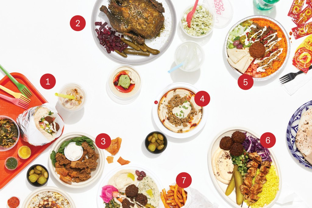 fast casual middle eastern