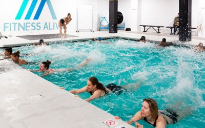 fitness alive pool workout