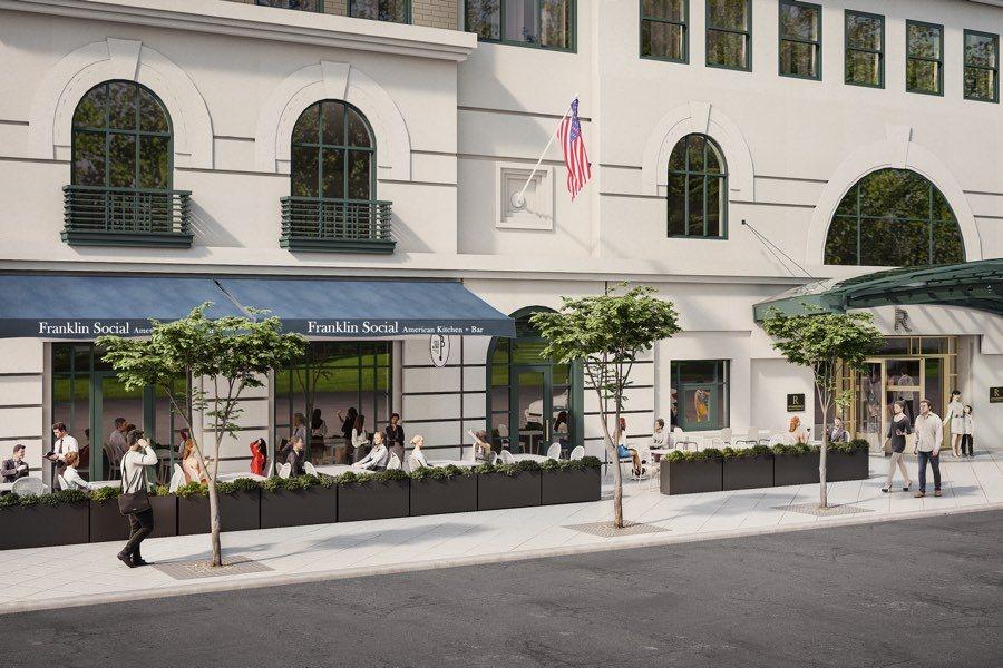 franklin social lounge restaurant bar old city philadelphia