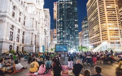 free outdoor movies philadelphia