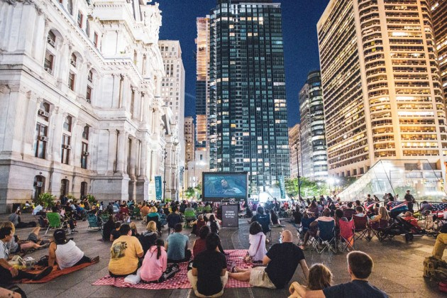 free outdoor movies philadelphia