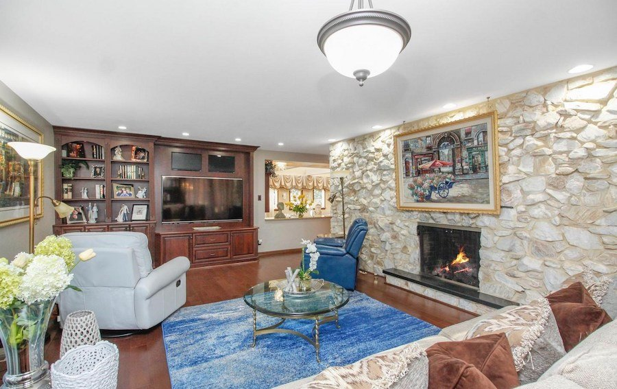 house for sale cherry hill clarke house family room