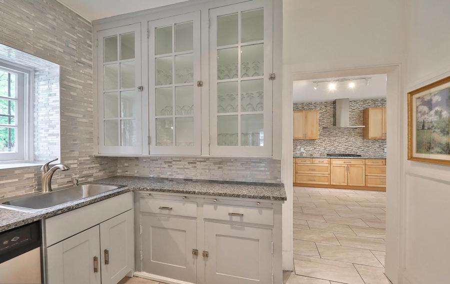 house for sale germantown updated colonial butler's pantry