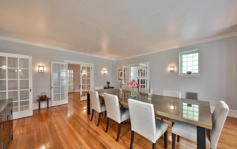 house for sale germantown updated colonial dining room