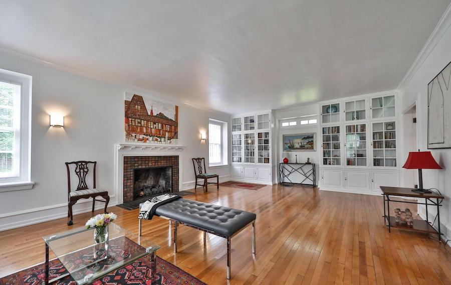 house for sale germantown updated colonial living room