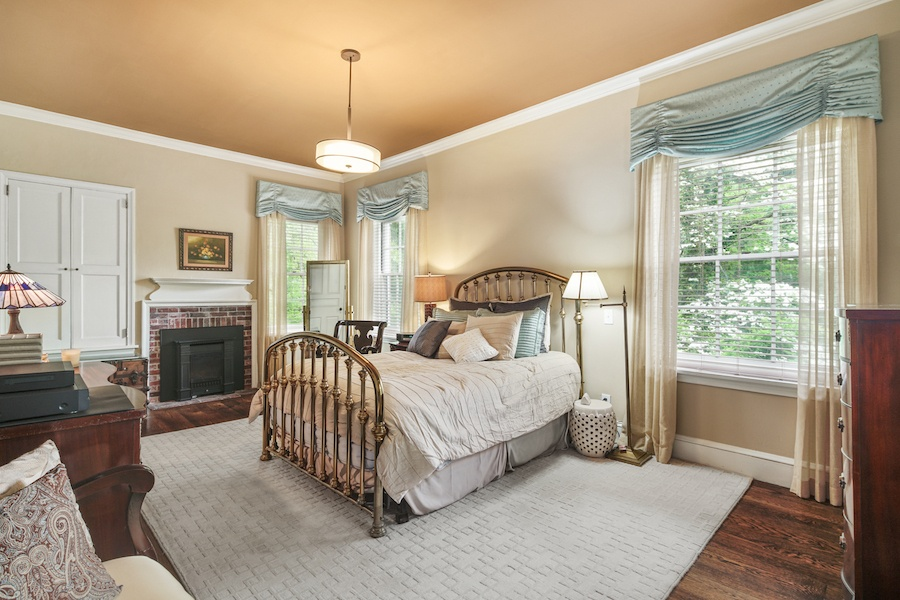 house for sale germantown moderne colonial master bedroom