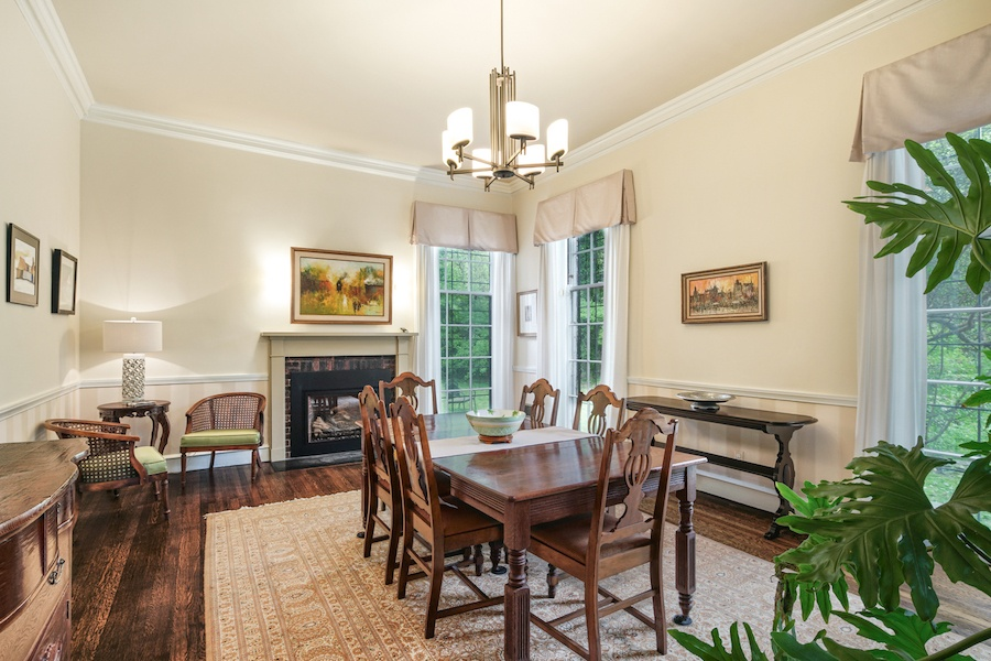 house for sale germantown moderne colonial dining room